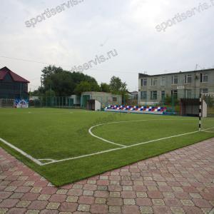 Мини футбольное поле  - искусственная трава
